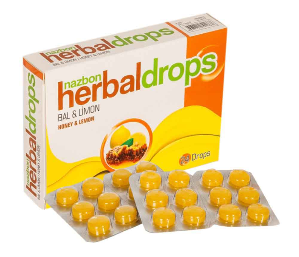 Herbal throat lozenges