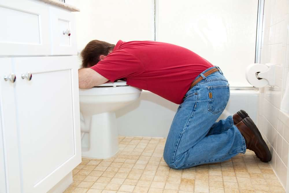 Vomiting, kidney stones symptoms